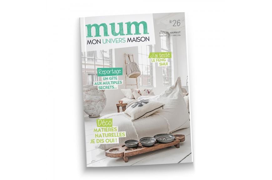 Univers Maison mon univers maison (mum)october 2014 cover page - mesele slow design